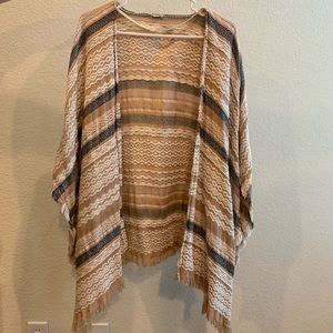 Urban Outfitters Pancho/Shaw